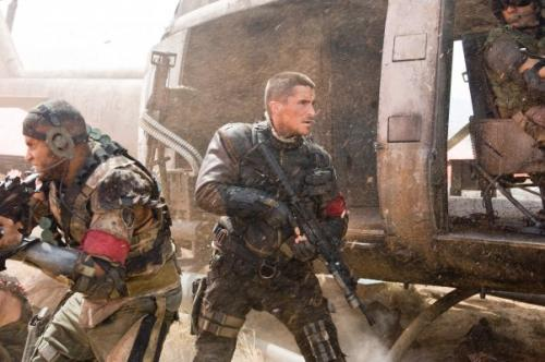 "Christian Bale as John Conner in ""Terminator: Salvation"" the 4th film in the franchise"