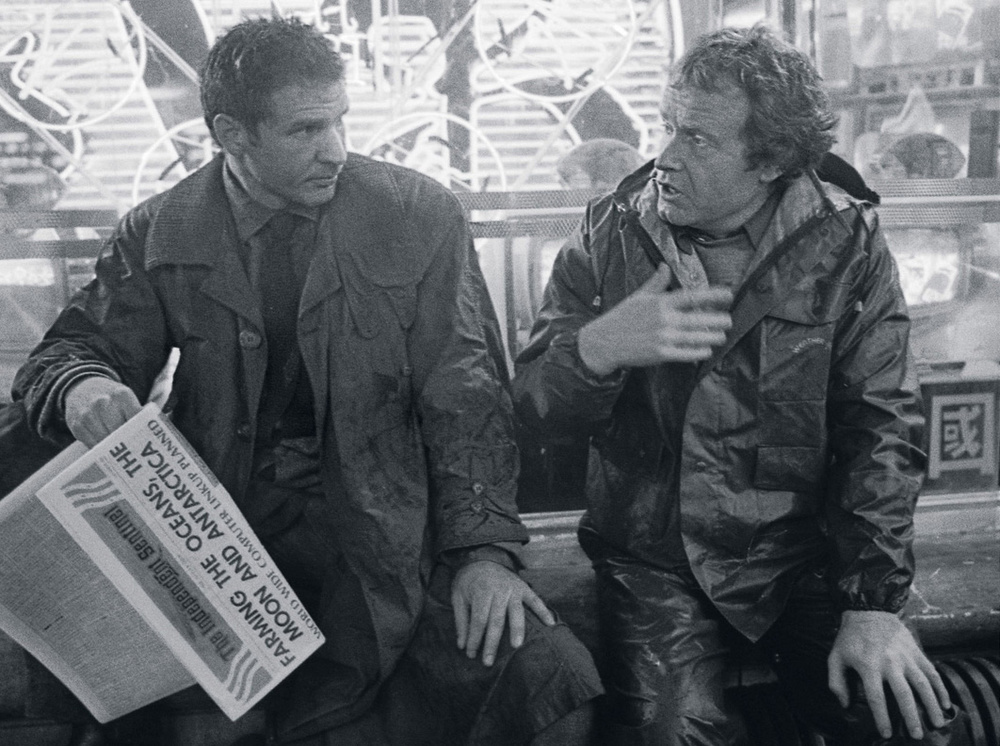 Blade Runner Harrison Ford Ridley Scott