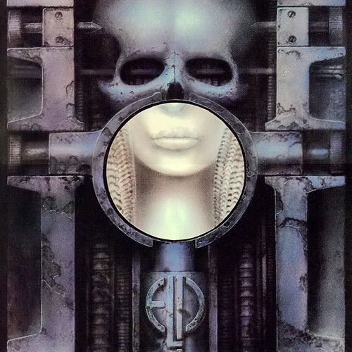 ELP's Brain Salad Surgery LP was one of several Giger-designed LP covers