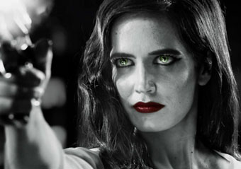 Eva Green is too sexy for the Sin City poster