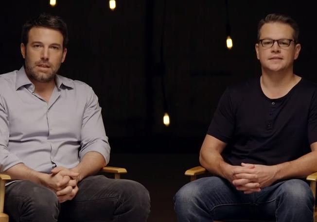 Ben Affleck & Matt Damon return to Project Greenlight