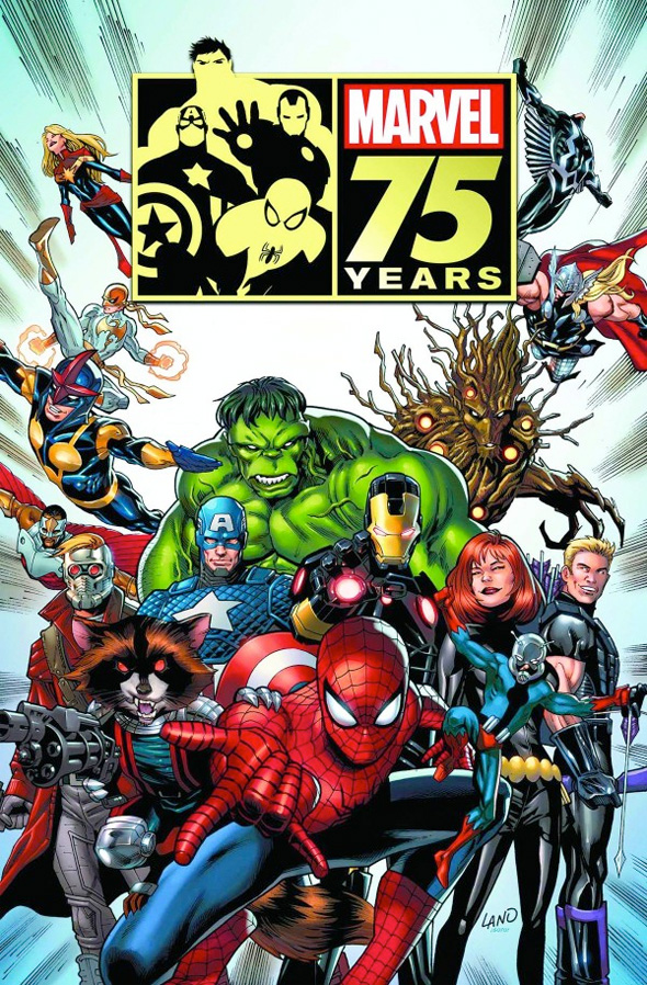 Marvel 75th Anniversary