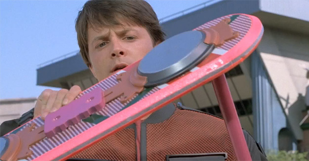 The Back to the Future Hoverboard is Real…sort of