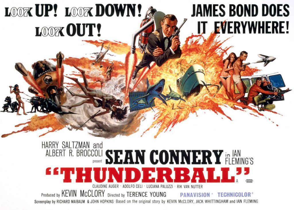 Thunderball James Bond