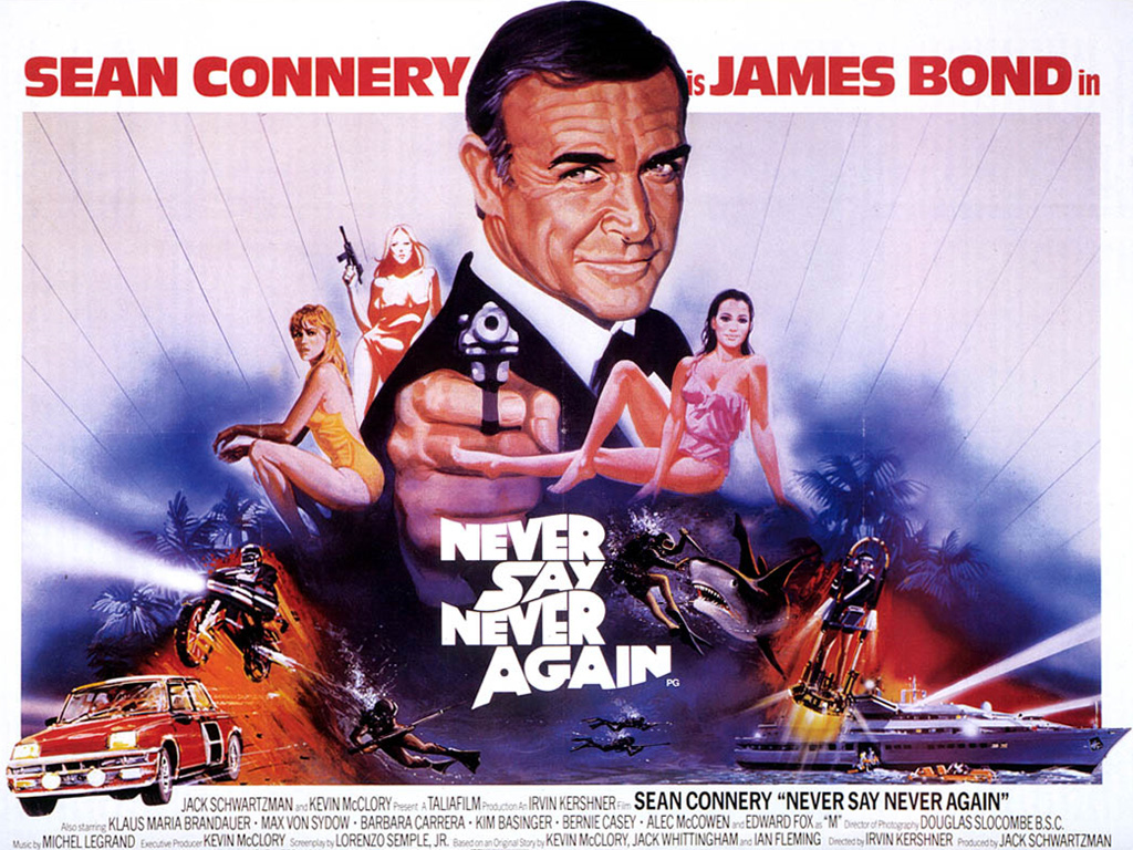 Never Say Never Again James Bond