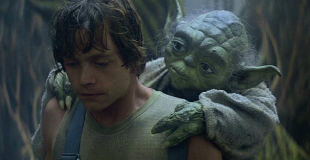 Luke Skywalker_Yoda The Empire Strikes Back