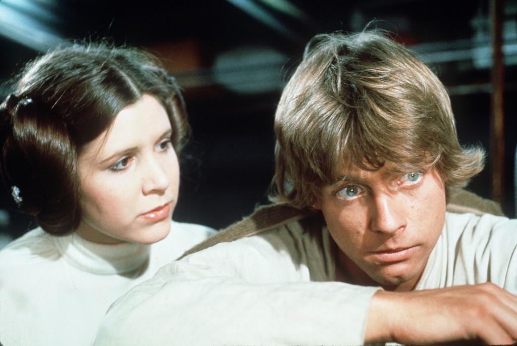 Luke Skywalker Princess Leia