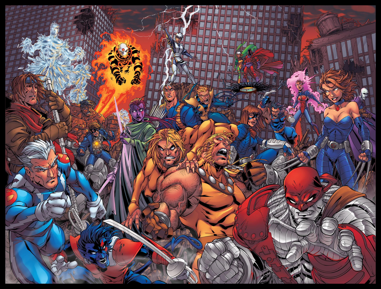 Age of Apocalypse Scarlett X-men Age of Apocalypse